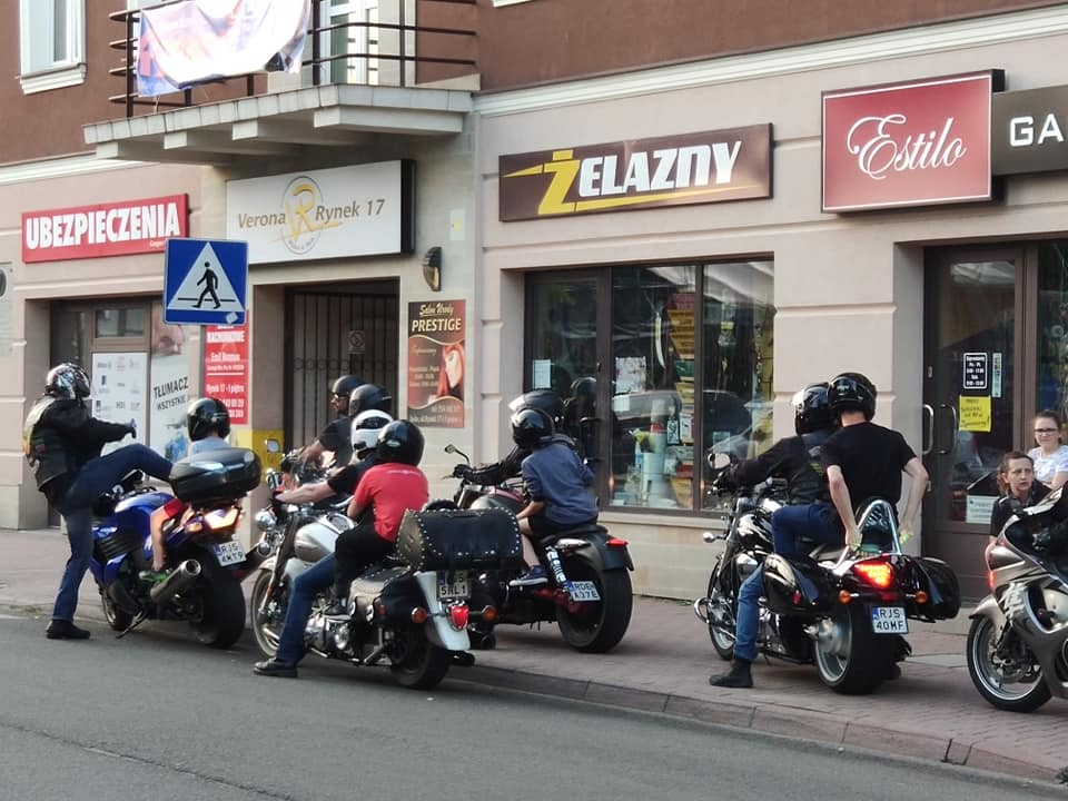 "Grupa motocyklowa  "" Brothers of the South """